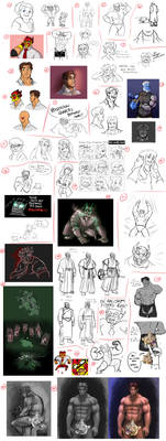 SF - Dante's 2018 Sketchdump
