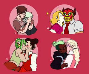 SF - Sweet Hearts Kisses
