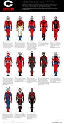 Trajes de Ant-Man by cachacity