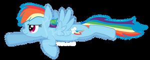 RainbowDash Flying Pose!