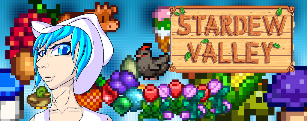 Stardew Valley Banner by Snowfleet