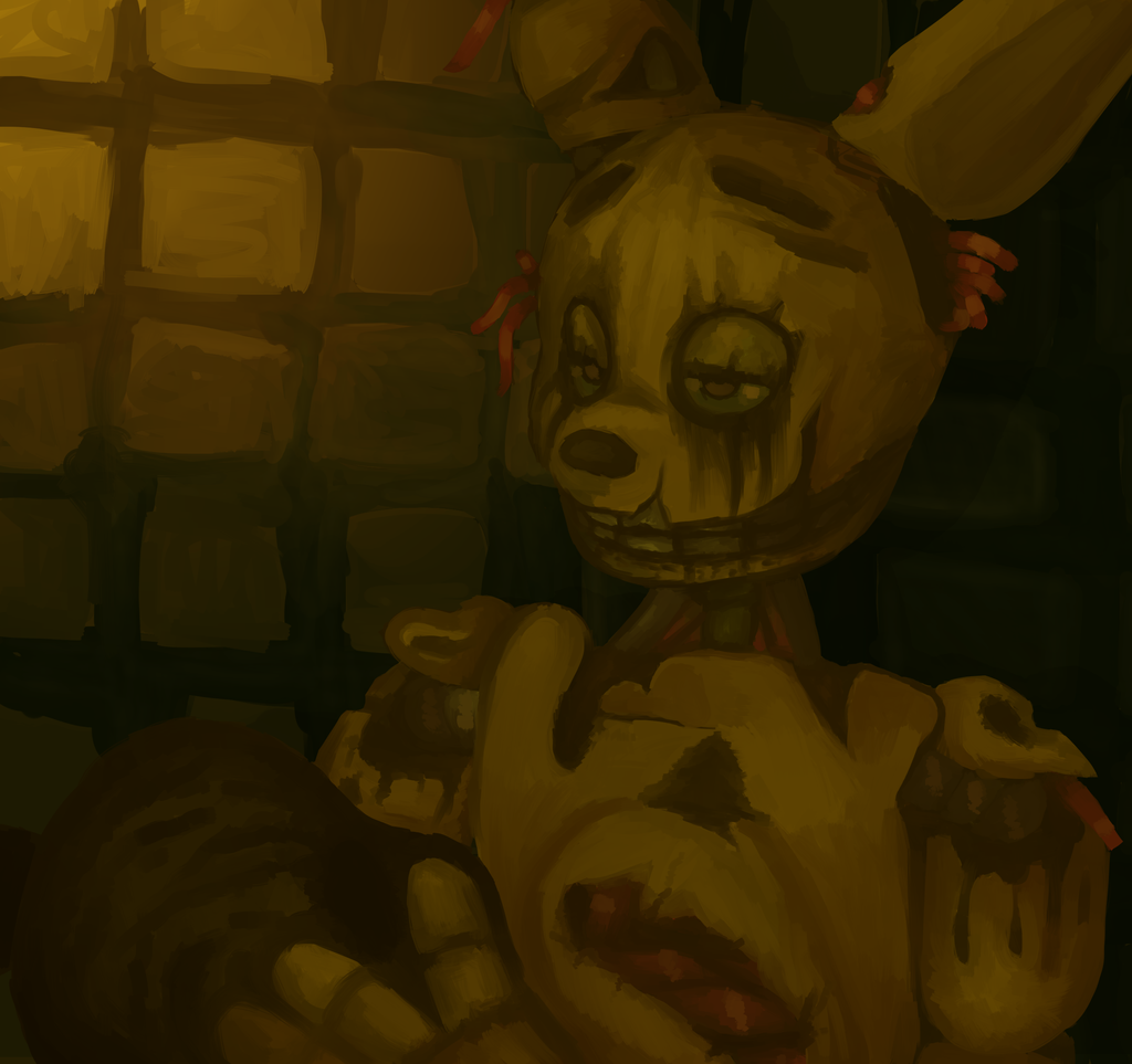 Springtrap speedpaint by fruithorns on deviantart - Fotos trap ...