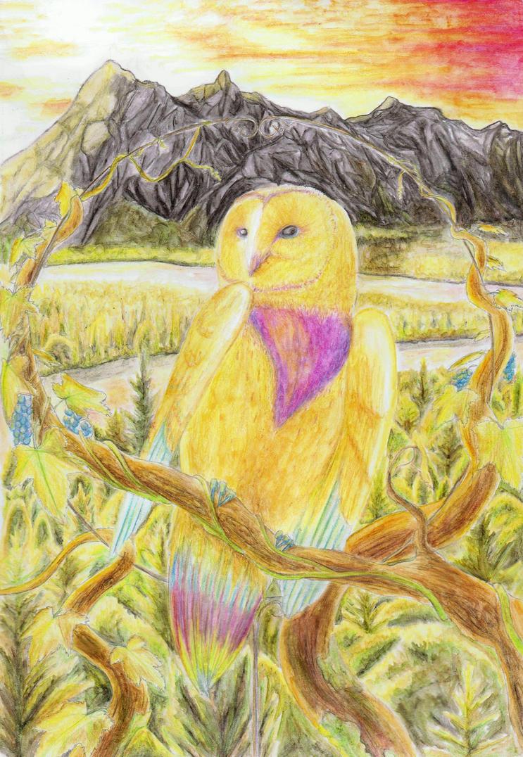 Sorra Owl [Commission] by Lady-Maaka