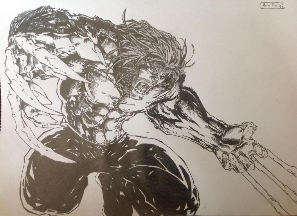 Wolverine by fogartyart