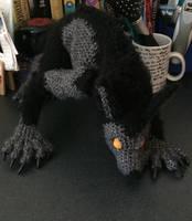 Crochet Werewolf by fluffydragon0-0