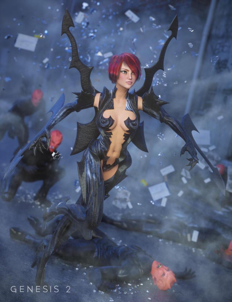 Razor Thorn by joelegecko