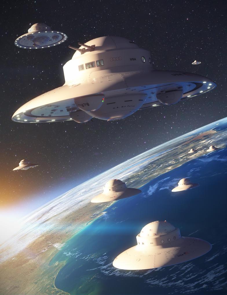 UFO by joelegecko