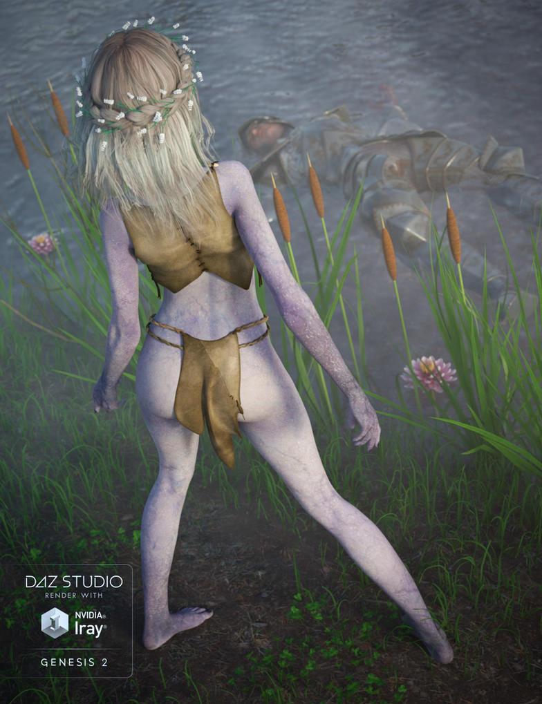 Lady Of The Lake by joelegecko