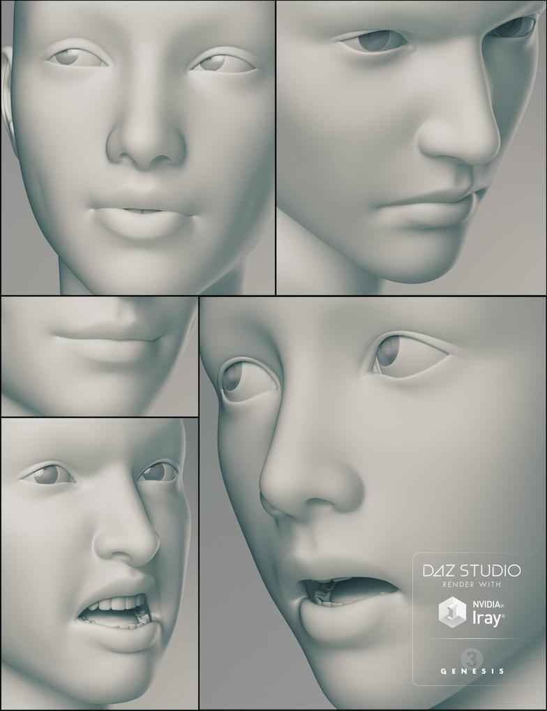Genesis3 Expressions by joelegecko