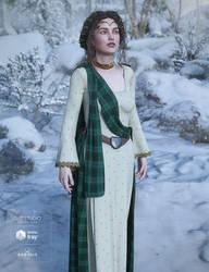 dForce Scottish Wear for GEN8 Female by joelegecko