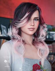 Cafe Curls Hair Colors by joelegecko