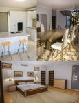 Modern House 2 Props 2nd Floor