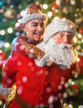 Drutherson8 - Santa and His Favorite Elf