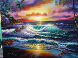 'Sweet Radiant Light' by Surf-Snow-Street