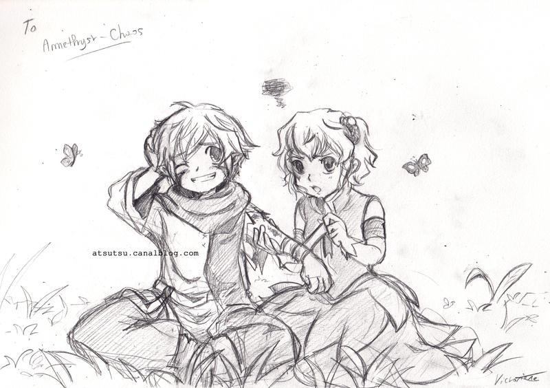 Commission : Stay still by Akemimi