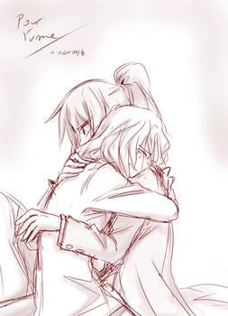 Sketch comm : Yume (2)