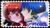 Vocaloid Stamp: Kaito x Meiko