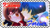 Vocaloid Stamp: Kaito x Meiko by AliceShion