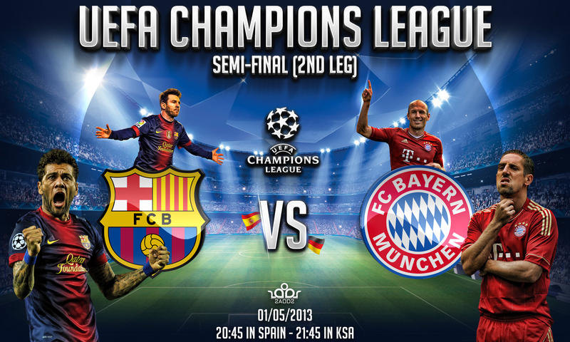 Fc barcelona vs bayern munchen by thenextlover on deviantart fc barcelona vs bayern munchen by thenextlover voltagebd Image collections