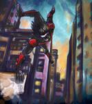 Nightwing Gotham parkour