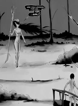Aidana Chapter II page 6 panel one excerpt