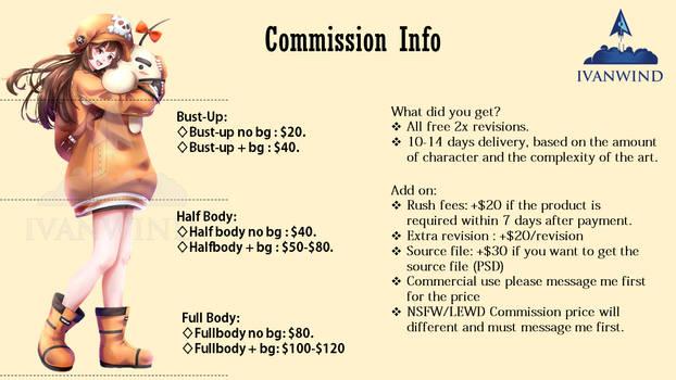 Commission Sheet Regular