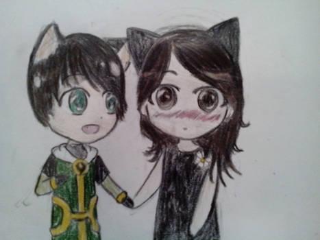 Innocent Loki and Lauren