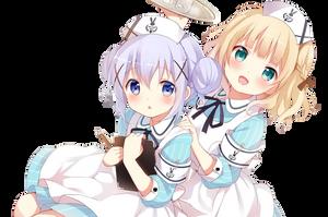 Gochiusa Cute Maid Render