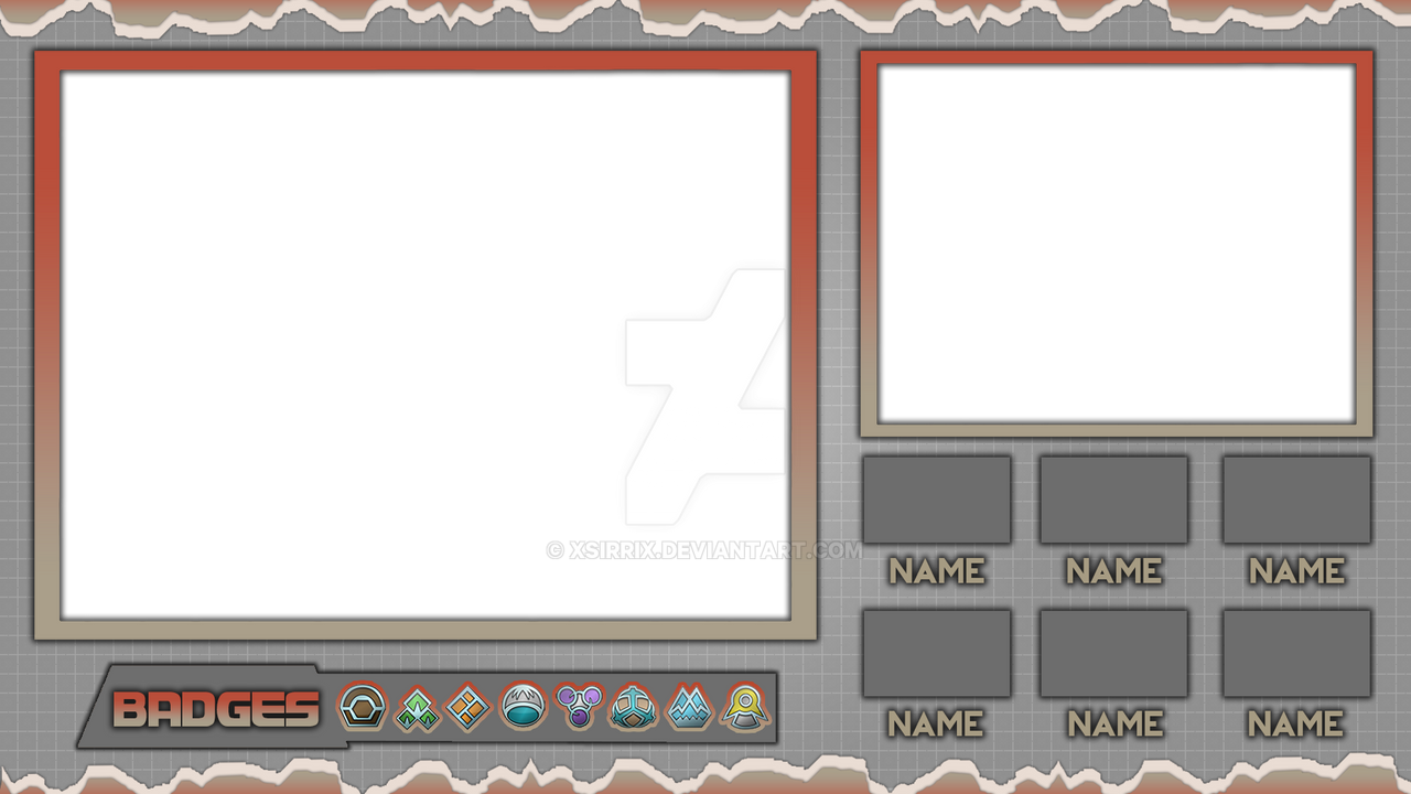 Pokemon Platinum Layout by xSirrix on DeviantArt