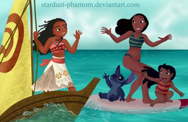 Aloha, Moana by Stardust-Phantom