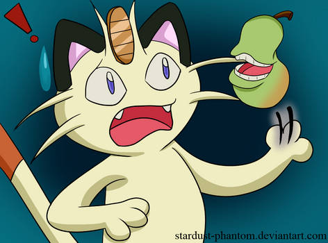 Meowth's Pear-y Scary Nightmare