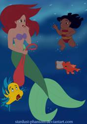 Aloha, Ariel by Stardust-Phantom
