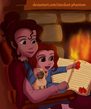 Belle and her Mom