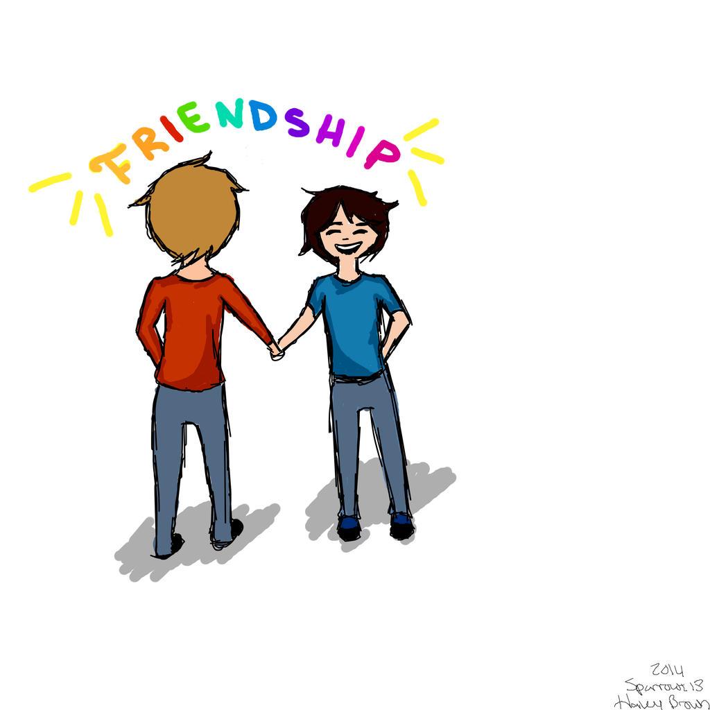 Friendship by Sparrowz13