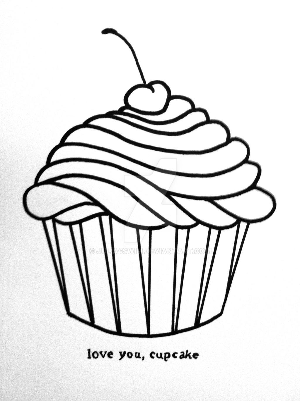 Cupcake Valentine by Julia4swim on DeviantArt