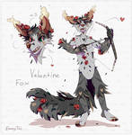 [closed] Auction fox Valentine