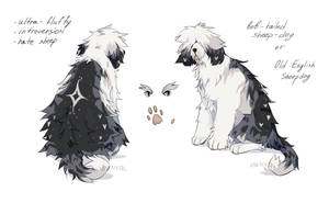 [closed] Auction Old English Sheepdog by EnemyTal