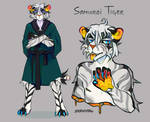 [OPEN] Samurai Tiger Adopt Auction by EnemyTal