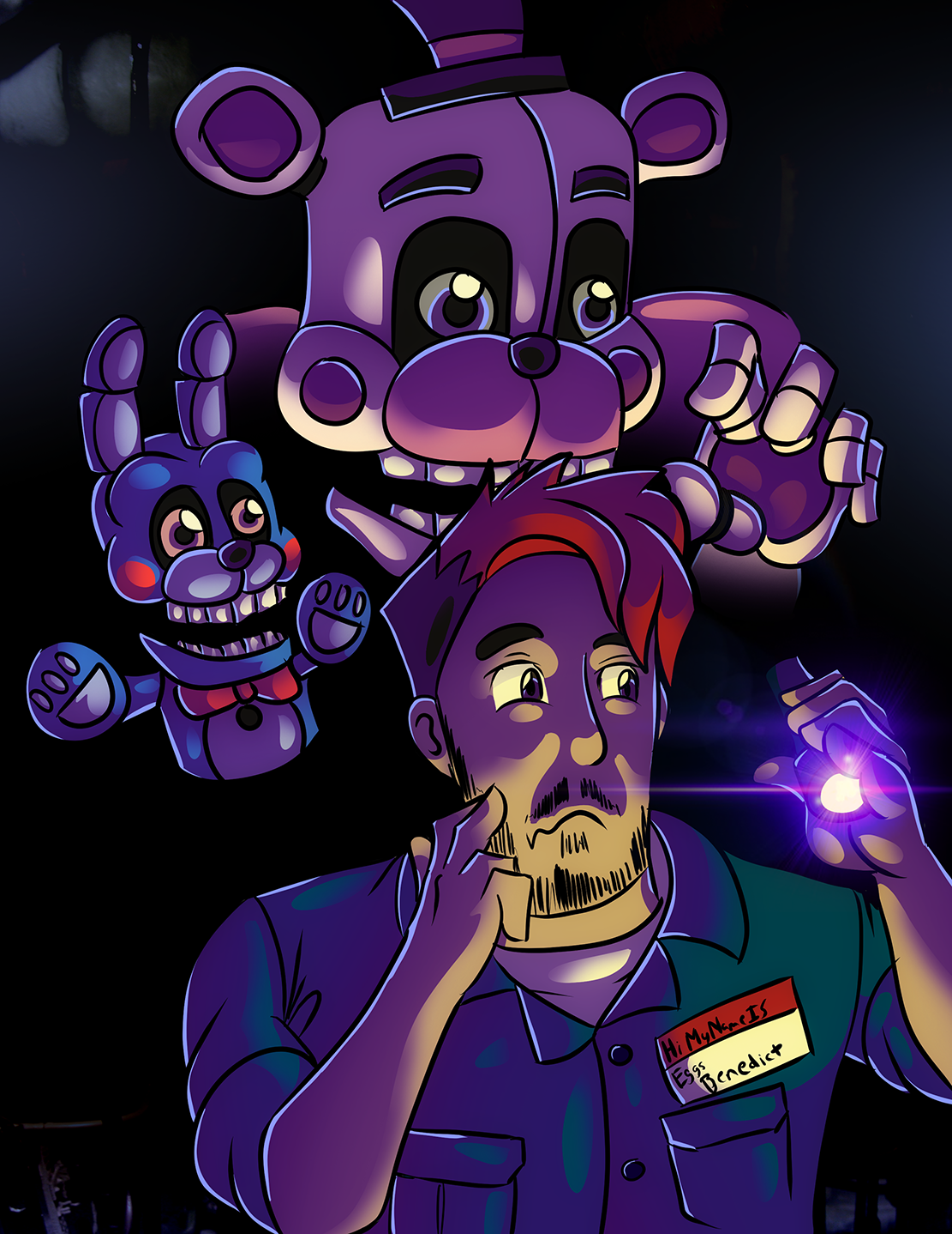 Markiplier | FNAF: Sister Location by HarutoAli on DeviantArt Markiplier Fnaf