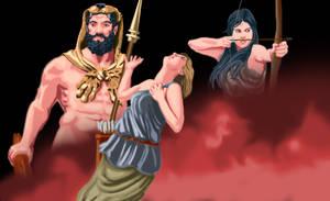 The Death of Hippolyta