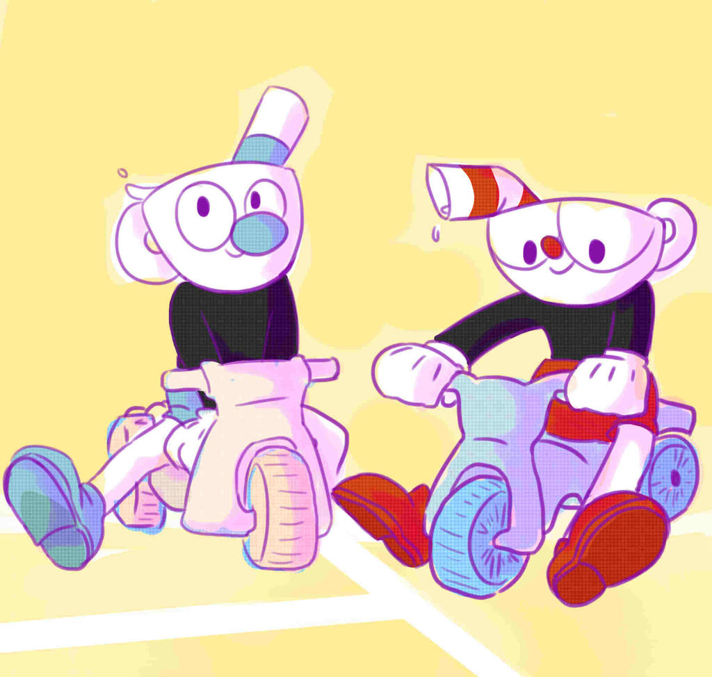 cuphead and mugman by flutter