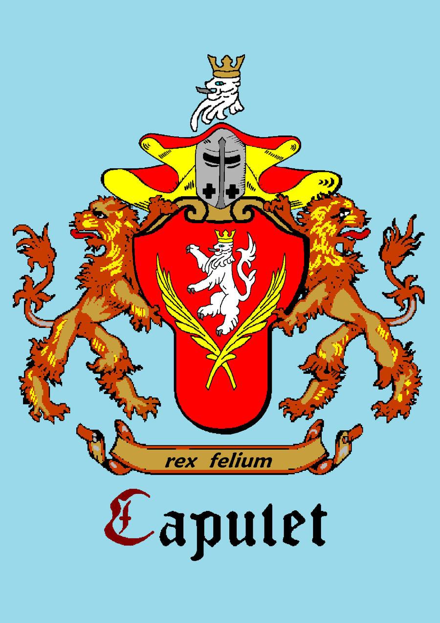 Capulet Coat of Arms for Juliet