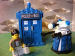 Dr. Who Lego Hybrid