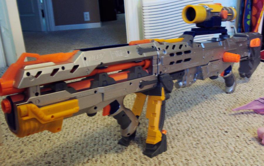 steampunk nerf gun WIP stage 1 by axlotlpancho ...