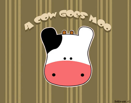 A Cow Goes Moo