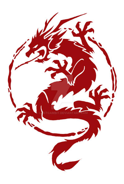 chinese dragon logo by lastgambit on deviantart