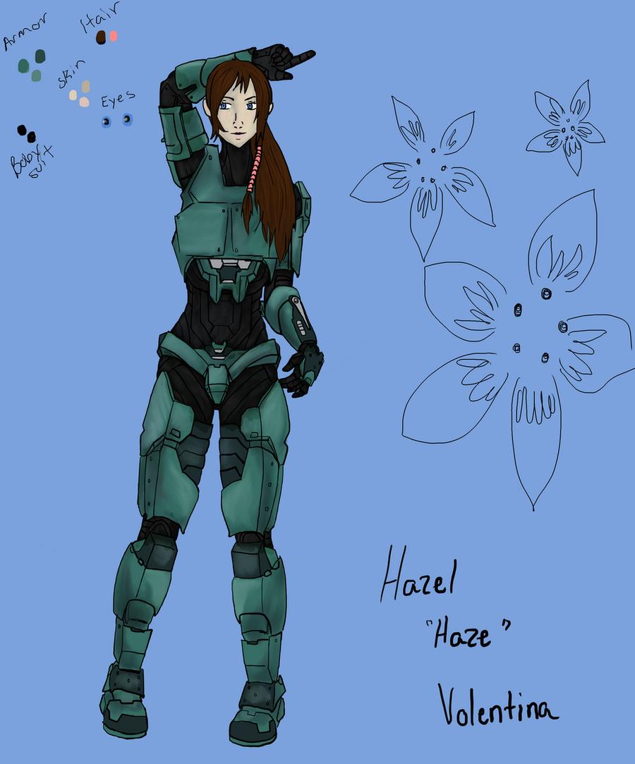 Hazel Volentina Ref Sheet by gigglesalot