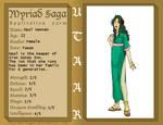 Myriad Saga - Opal Wennen App by gigglesalot