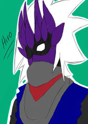Hiro - Art Trade by gigglesalot