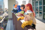 Teen Titans Cosplay Group